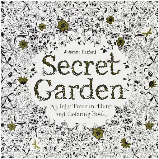Großhandel Freies Dhl Secret Garden 96 Seiten Englisch Auflage ...
