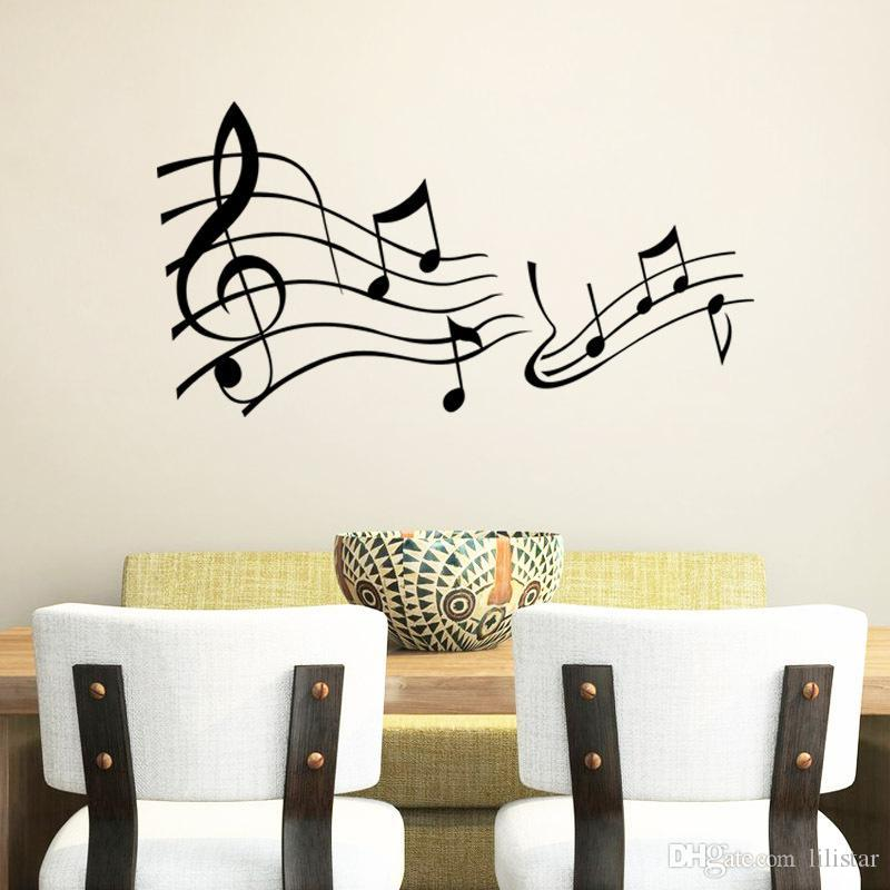 Various Color Music Note Music Classroom Can Remove Background Decorative  Fashion Music Symbol Decor Mural Art Wall Sticker French Decal Decor Decals  Decor ... Part 65