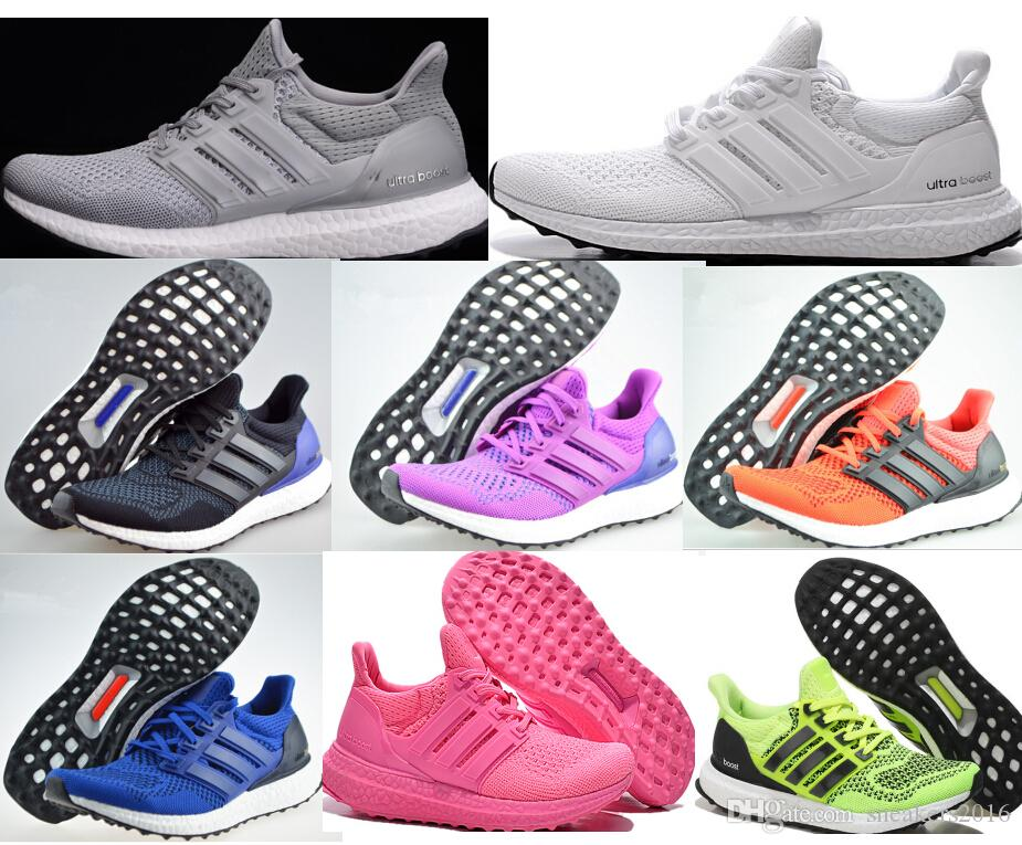 85a2e9de37337 ... newest ultra boost white shoes women mens fashion white ultra boost  mesh breathability sports shoes