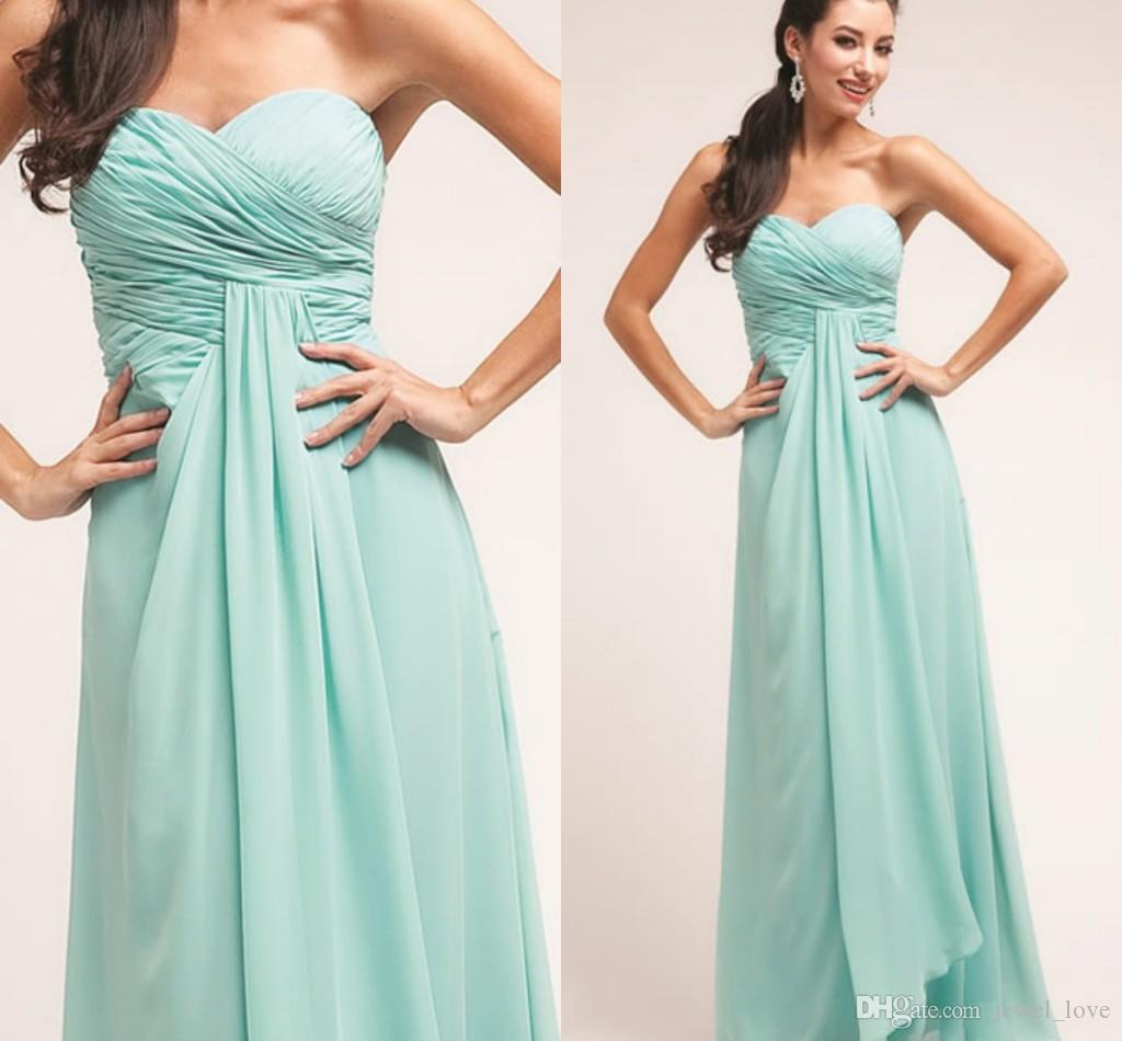 2015 cheap mint chiffon bridesmaid dresses sweetheart neck 2015 cheap mint chiffon bridesmaid dresses sweetheart neck backless ruched elegant custom made sleeveless unique evening dresses gowns jade bridesmaid ombrellifo Image collections
