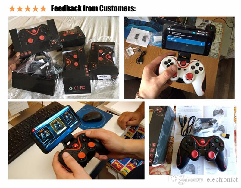 Wireless Smart Phone Game Controller Joystick 2.4G Wireless Joystick Bluetooth 3.0 Android Gamepad Gaming Remote Control for phone PC Tablet