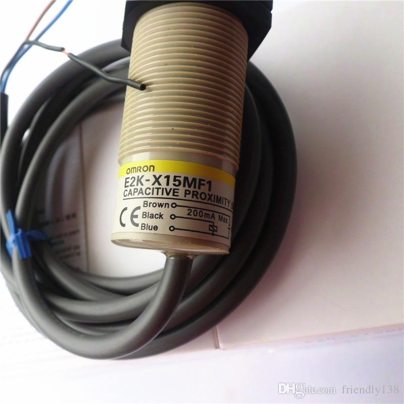 Omron capacitieve nabijheidsschakelaar Sensor E2K-X15MF1 100% Gloednieuwe hoogwaardige garantie voor één jaar