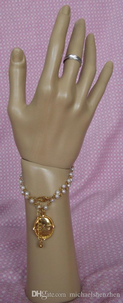 Schmuck Verpackung Display Schaufensterpuppe Hand-Handschuhe Display Schmuck Ring Armband Halskette Halter Stand C001