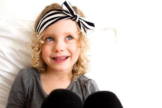 مخطط الطفل hairband الفتيات جميل الانحناء الشعر الفرقة الرضع لطيف الأرنب الأرنب الأرنب الأذن مقص الأطفال القوس مرونة عقال A6402