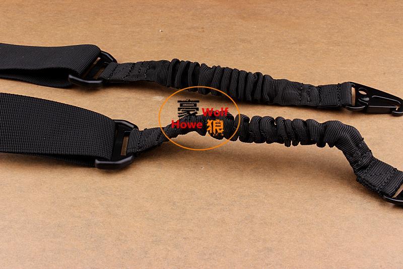 حبال التكتيكية المزدوج نقطة 2 يدور الشريط متعدد المهمة قابل للتعديل لبندقية بندقية