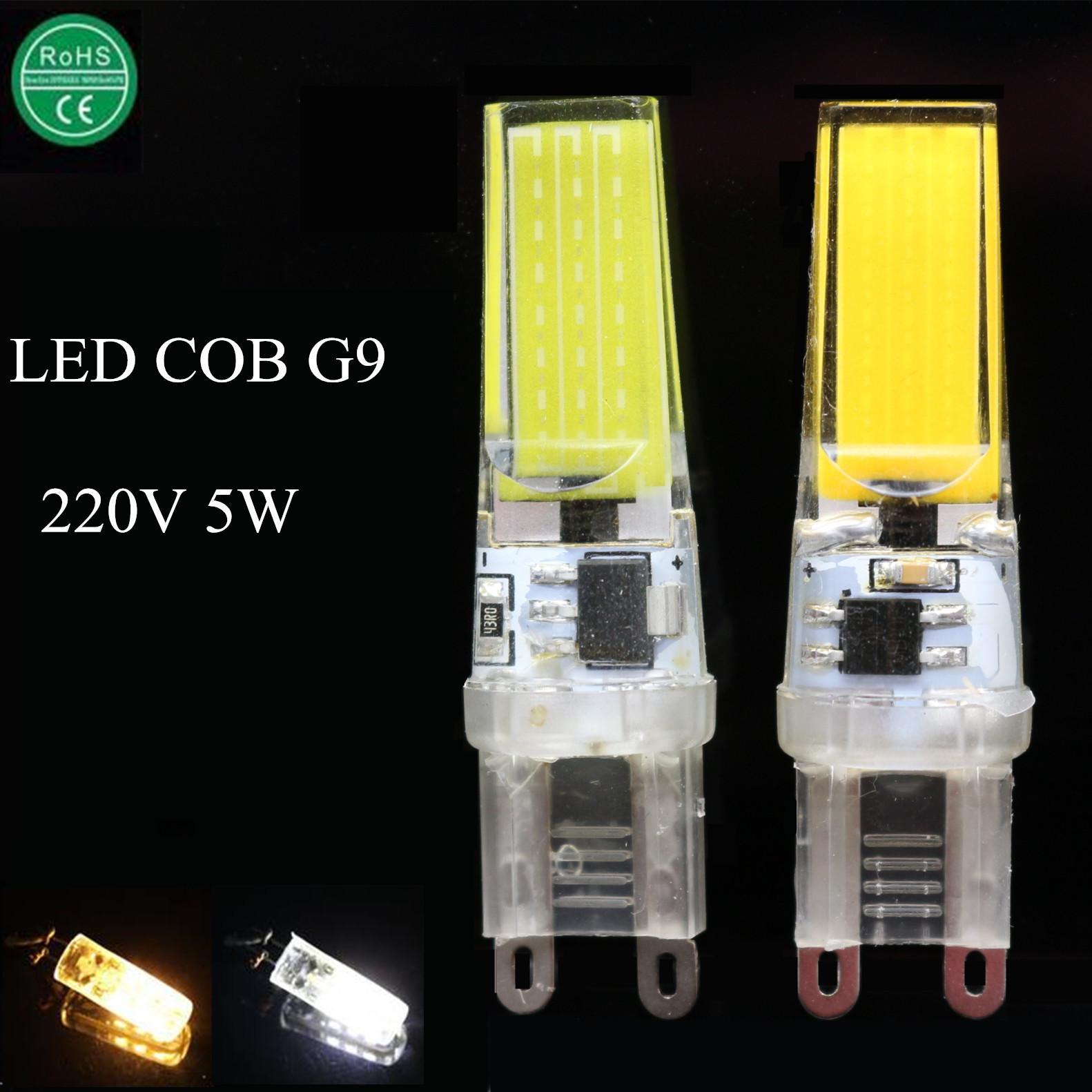 1x new led g9 light bulb 5w smd2835 220v 240v lamparas led lamp g9 spotlight ampoule luz. Black Bedroom Furniture Sets. Home Design Ideas