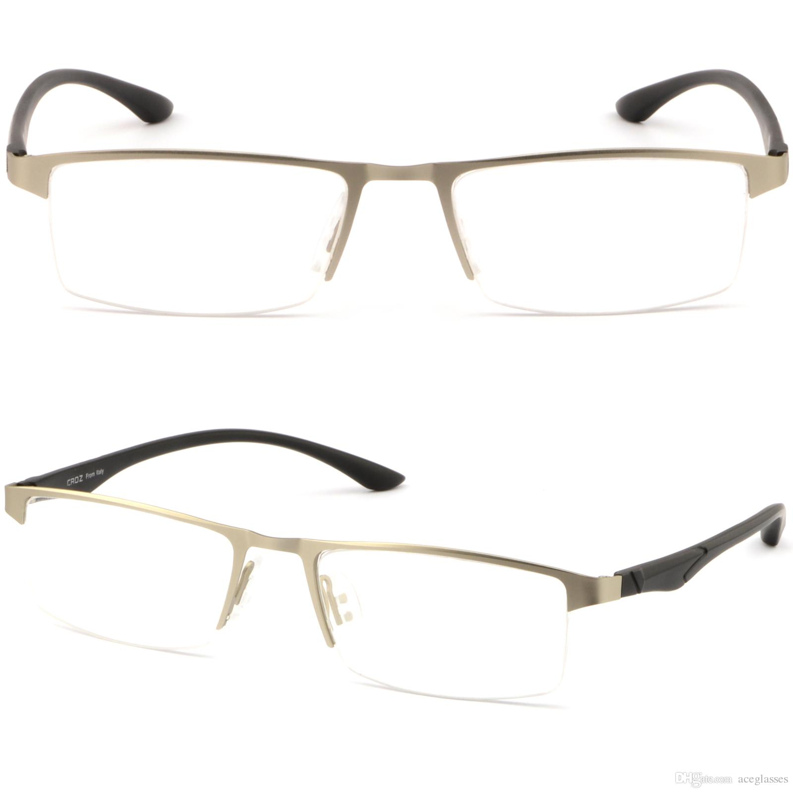 a49ba330f2 Half Rimless Light Men Women Titanium Frame RX Prescription Glasses  Photochromic Glasses Frame Online with  35.87 Piece on Aceglasses s Store