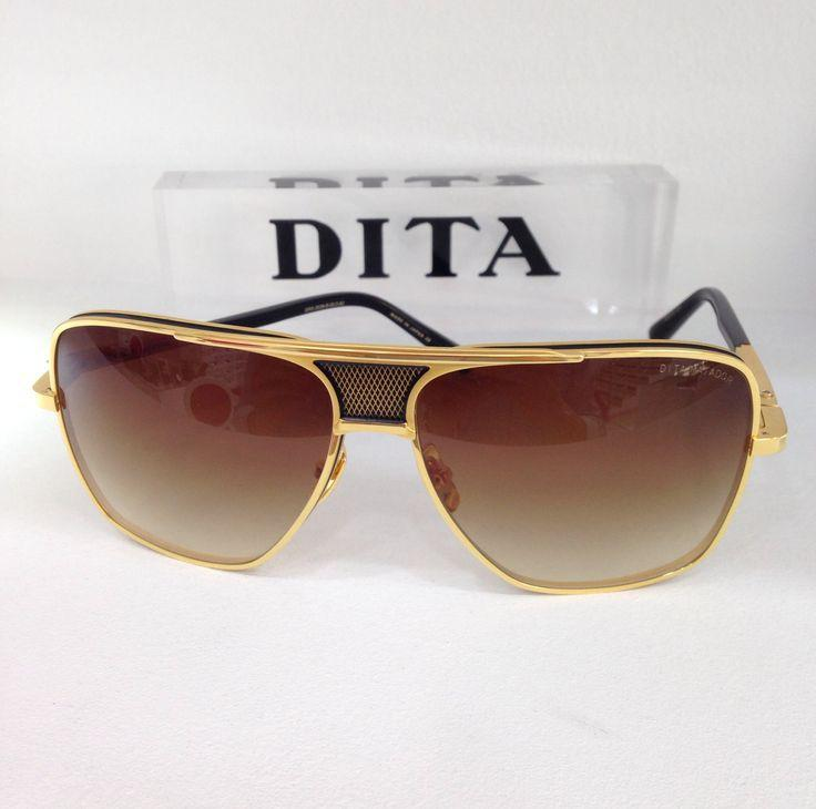 5775787c233 Top Quality Titanium Metal 22K DITA Sunglasses Men DITA MATADOR DRX 2038  ESLV 61 Luxury Eyewear Dita Dark Sunglasses Polarized Victoria Beckham  Sunglasses ...