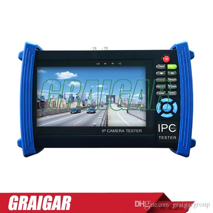 IP Camera CCTV Tester monitor 7inch ONVIF IP Camera Image Test Mobile  Client Video HDMI Output WIFI IPC-8600