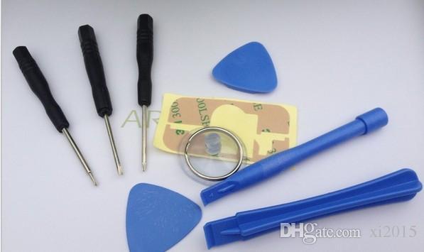 8 en 1 Tournevis Sucker Pry Réparation Kit D'Ouverture Kit Set Pour iPhone 4 4S 4G 5 5C 5S 6 6plus 100 Ensembles /