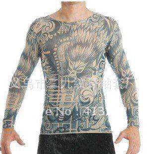 Wholesale prison break tattoo t shirts punk tattoo t for Tattoo t shirts wholesale
