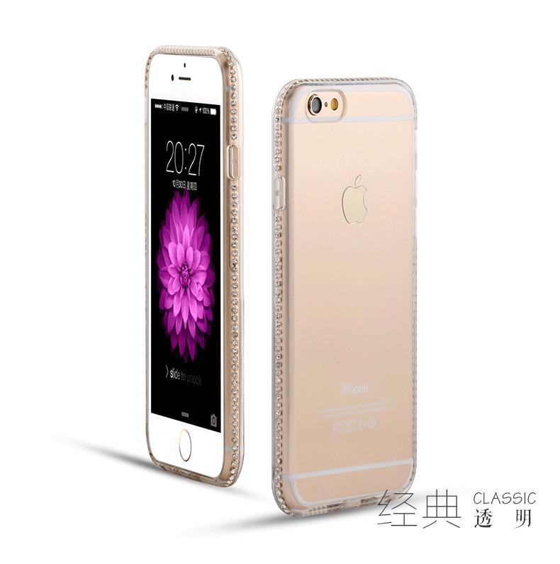 nuovo arrivo Samsung J1 / J5 / J7 / A5 / A7 sottile tpu diamante guscio del telefono bordo S6edge più ghiaccio di perforazione S6 telefono cellulare set manicotto protettivo