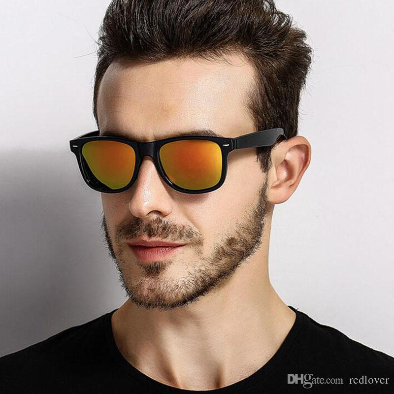 3c2810f6a01 REDLOVER Brand Classic Polarized Sport Sunglasses Men Driving Square Black  Frame Eyewear Male Sun Glasses For Men Oculos Fishing UV400 Reading Glasses  ...