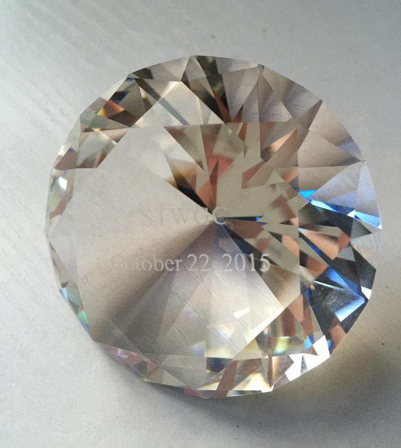 glass gifts detail large crystal buy for product paperweight clear wedding diamond wholesale transparent optical return diamonds