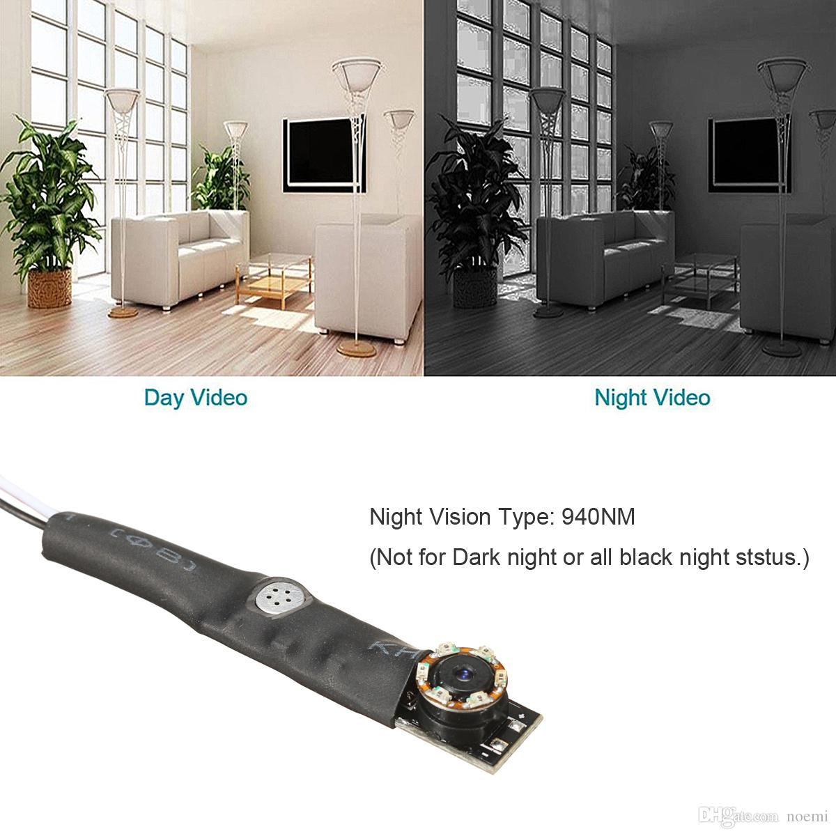 1000TVL 940nm Micro COMS Full HD Night Vision MINI Camera Home CCTV Security