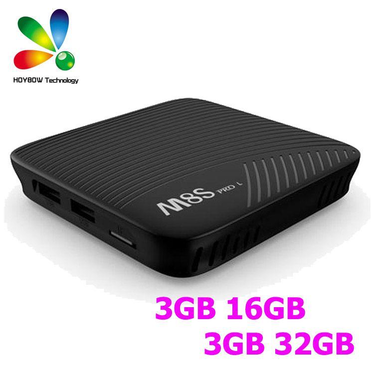 Amlogic S912 Android 71 Tv Box Mecool M8s Pro L 3gb 32gb Octa Core
