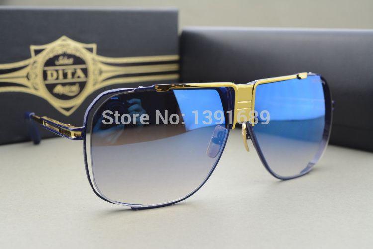 bac69141198f DITA CASCAIS Sunglasses The New Design With Original Package BLACK SHINY  18K Gold Gray Suncloud Sunglasses Foster Grant Sunglasses From Lotuscookie