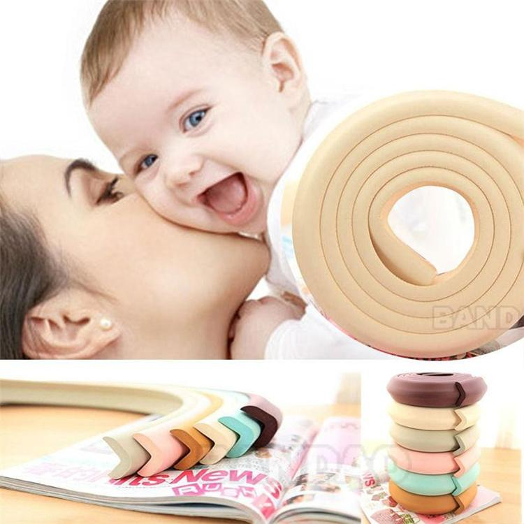 Baby Safety Accessories NBR Foam Rubber Designer Edge Cushion Furniture Guard Strip Children Protector Cushion for AB048