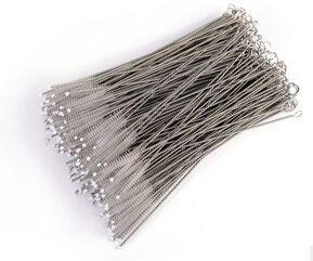 Spazzola delle bottiglie della spazzola di pulizia di pulizia delle paglie della spazzola di pulizia del filo dell'acciaio inossidabile Trasporto libero
