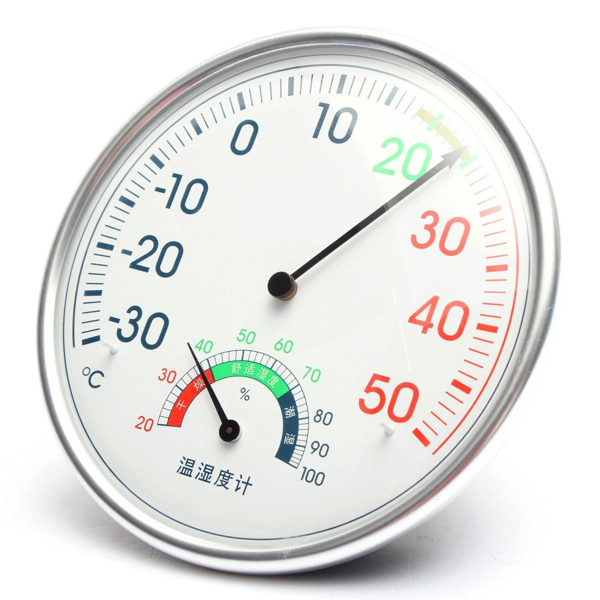 Best Accurate Household Hygrometer Thermometer Dial Indoor Or ...