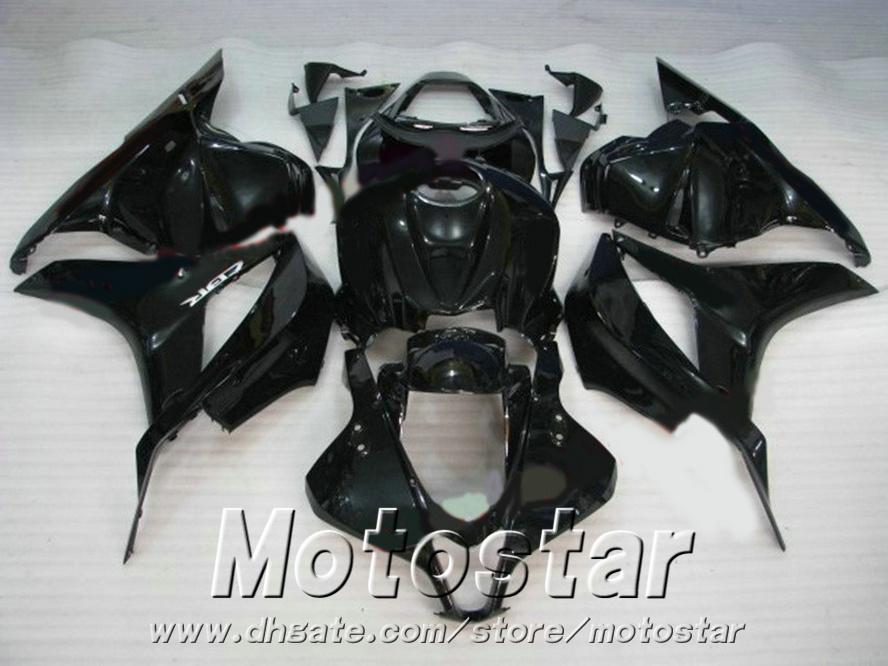 7 regali + carene ABS stampaggio a iniezione Honda CBR600RR 2009-2011 kit carrozzeria nero lucido CBR 600 RR 09 10 11 YR12