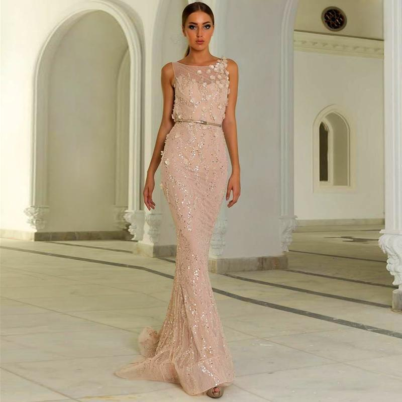 776e991bc4 Hot Sale 2016 Sexy Zuhair Murad Evening Dresses Mermaid Scoop With ...