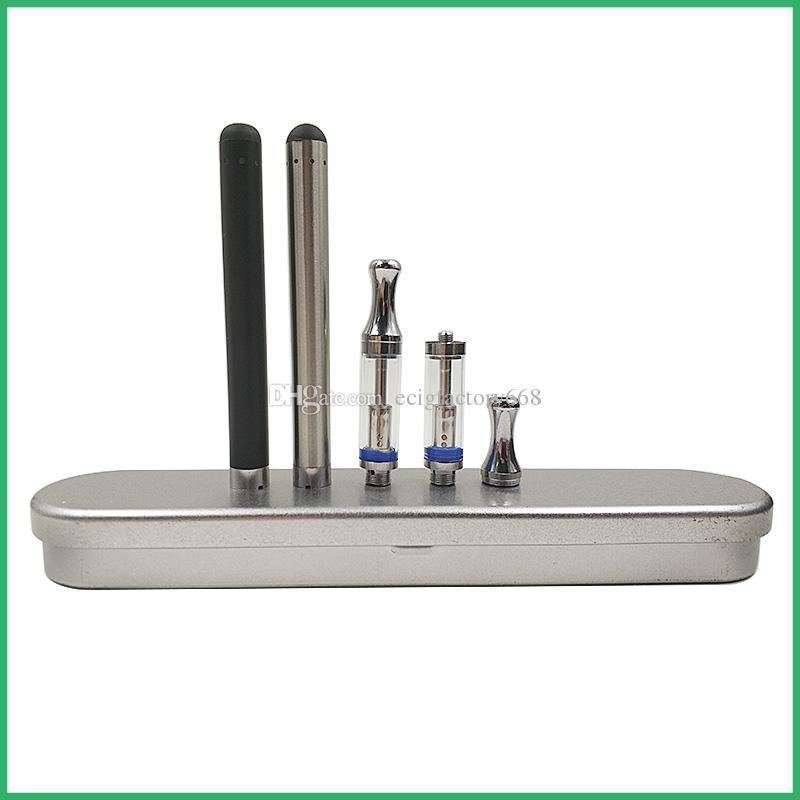 CE3 vaporisateur starter Metal Case kit 92A3 O stylo Vape BUD touch Batterie 280 mAh Préchauffage Stylo à bille Tube de verre Cartouche Embout métallique Atomiseur