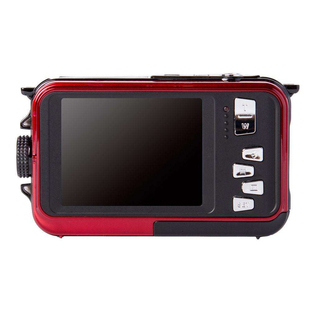 --Dual screen camera waterproof high-definition digital camera dv camera