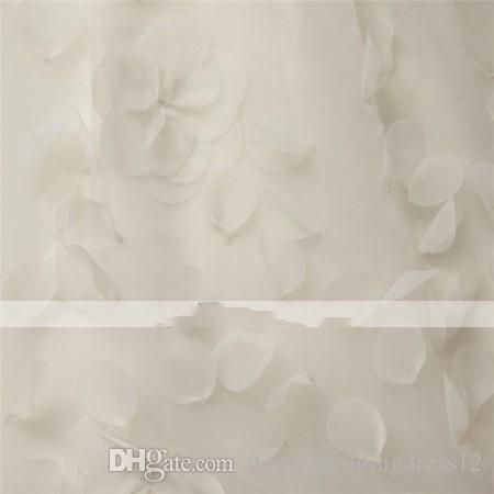 2016 베스트 셀러 패션 커스텀 메이드 트럼펫 / 머메이드 꽃 레이스 V 넥 코트 Train Tulle 웨딩 드레스 001