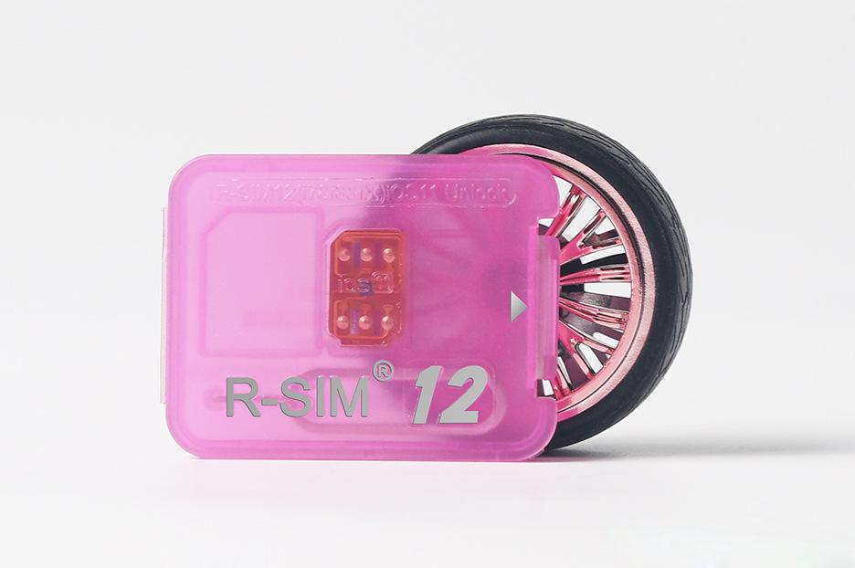 Rsim 12+ r sim 12+ RSIM12+ unlock card for iPhone 8 7 plus i6 unlocked iOS 11.x-7.x 4G CDMA GSM WCDMA