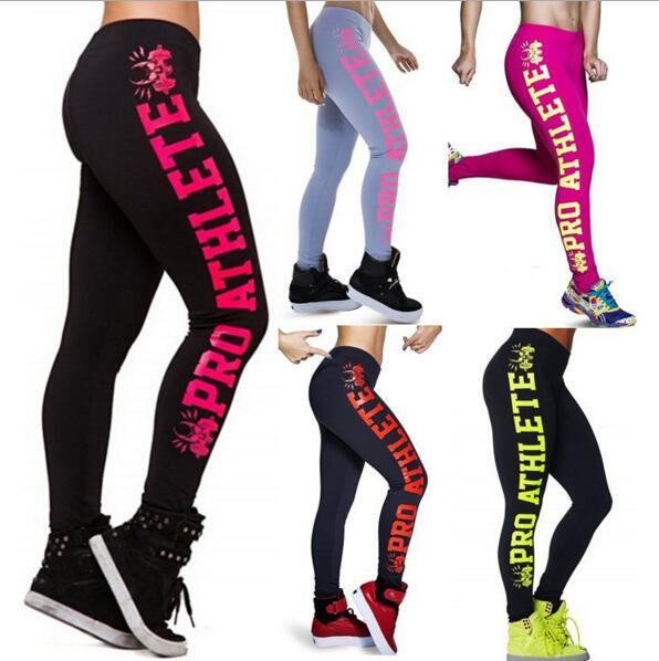 969d6fc8be39ba 2019 Hot Sale Women Leggings For 2016 New PRO ATHLETE Printed Sports  Running Legging Pants Letter Casual Sexy Fitness Leggins Trousers From  Wodedipan1977, ...