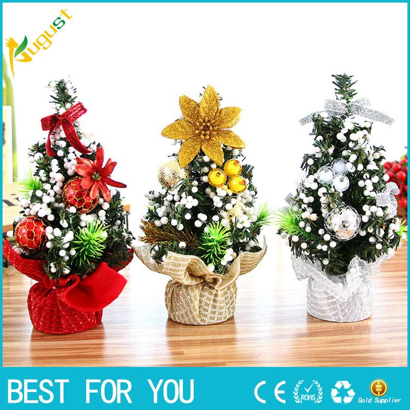 Beautiful 20CM Merry Christmas Tree Bedroom Desk Decoration Toy Doll ...