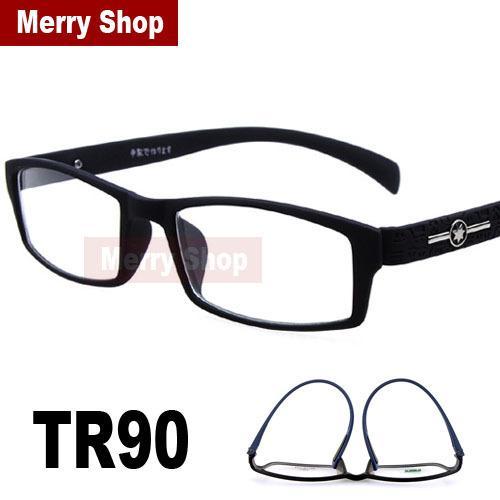 2015 Women Men Glasses TR90 Memory Plastic Frames Decoration Goggles ...