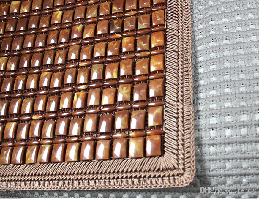Monolithic Brown Lace Cushion Summer Car Upholstery Four Hand-Woven Seat Cushion 64-2B 1955 Ecological Log Refreshment On Hot