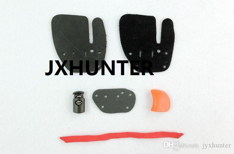 recuver bow shooting finger tab finger glove finger protector right hand use shooting gears