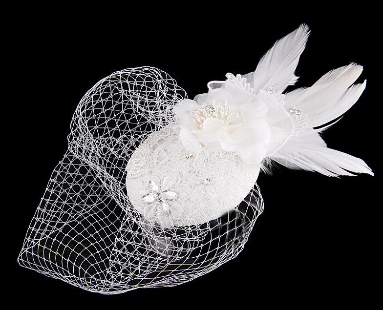 In Stock 2019 Bridal Silver Tiaras Graceful Handmade Pearls Crystals Bridal Flowers Comb Wedding Hair Accessories
