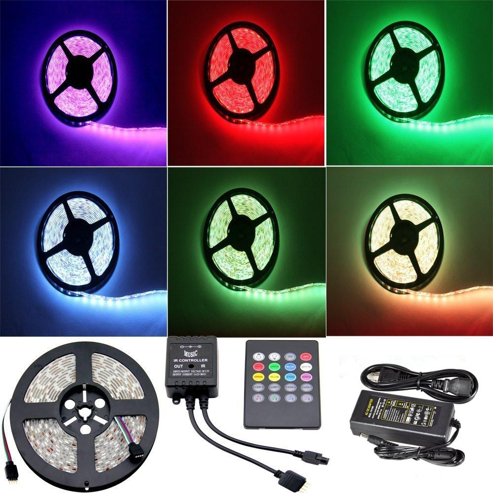 Yhg 5 Meter Rgb Color Changing Smd 5050 Flexible Led Strip