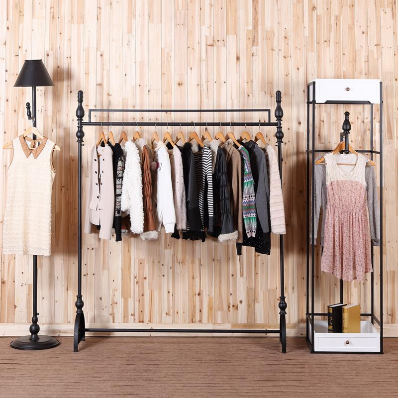 c iron clothing rack clothing store display racks for hanging rh dhgate com cheap clothing store shelves clothing store racks and shelves