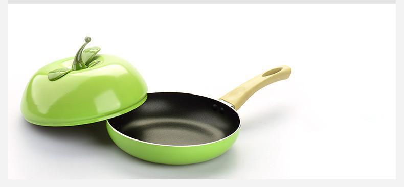 hot sale fruit frying pan colour saucepan ceramic pan grill pan cast aluminum cookware gas grill pan - Ceramic Frying Pan