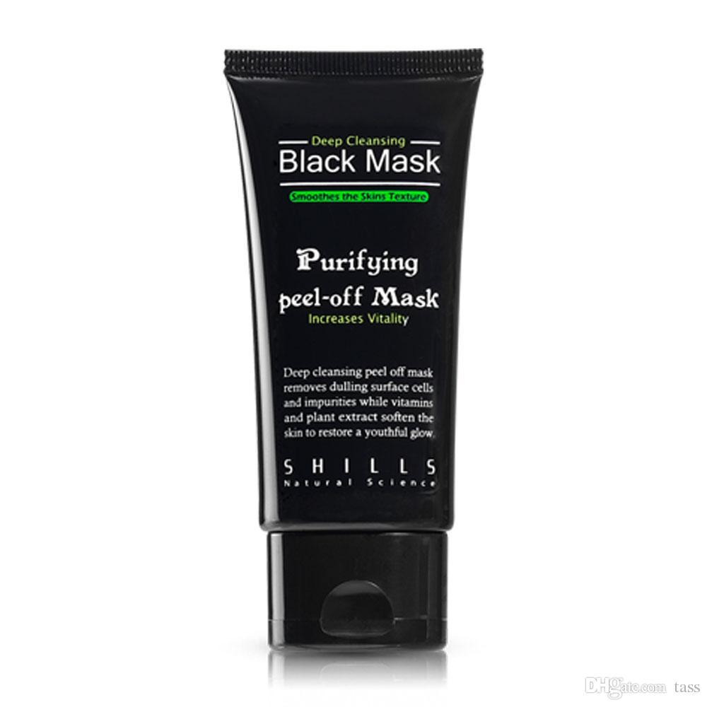 SHILLS Black MASK Deep Cleansing/ purifying peel-off mask / Clean Blackhead facial mask 50ML