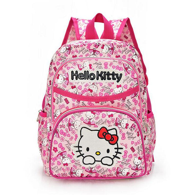 9d196986f238 Hello Kitty Girl  S School Bag Child Backpack Bags School Backpacks  Schoolbag Bags Lovely Children Backpack School Bags For Kids Girls School  Bags From ...