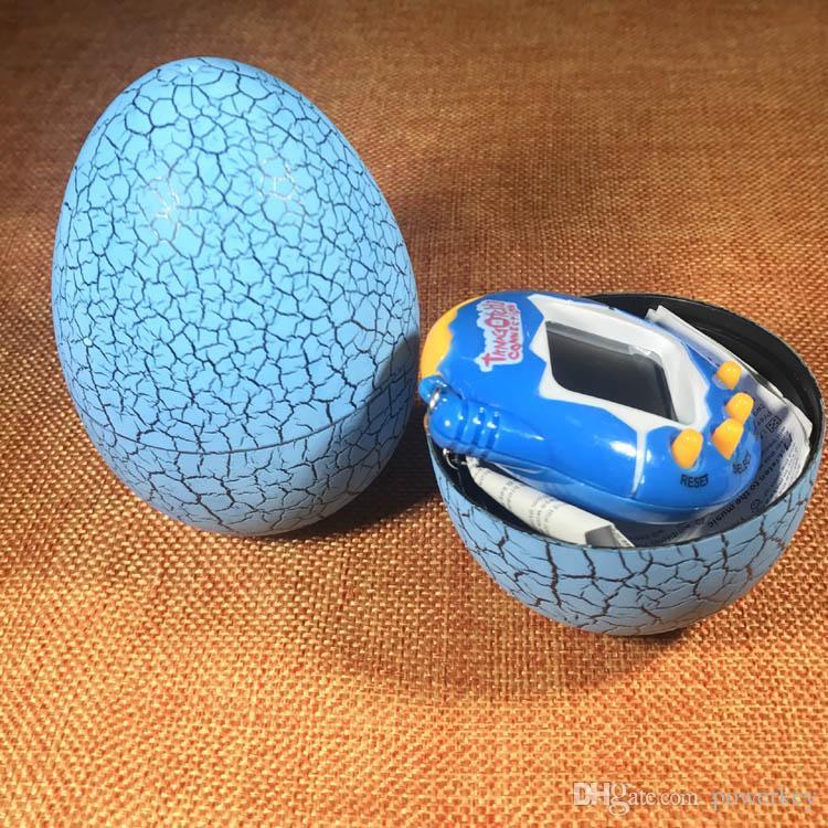 Tamagotchi Tumbler Jouet Parfait Pour Les Enfants Cadeau D'anniversaire Dinosaur Egg Animaux Virtuels Sur Un Trousseau Numérique Pet Électronique Jeu DHL Gratuit