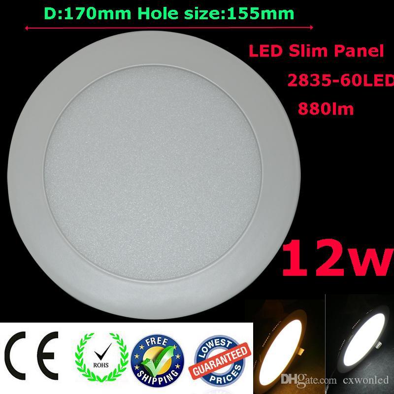 20x وسطوع عالية جولة لوحة أضواء انخفاض الأسعار أدى تعطل دوونلايتس Lamp3w / 6W / 9W / 12W / 15W / 18W AC100-240V CE بنفايات FCC UL