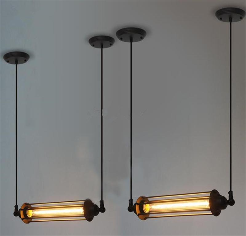 Rare vintage style industrial ceiling lamp loft edison tube light rare vintage style industrial ceiling lamp loft edison tube light bulb hotel cafe bar resturent pendant lamps ceiling chandelier light industrial ceiling aloadofball Images