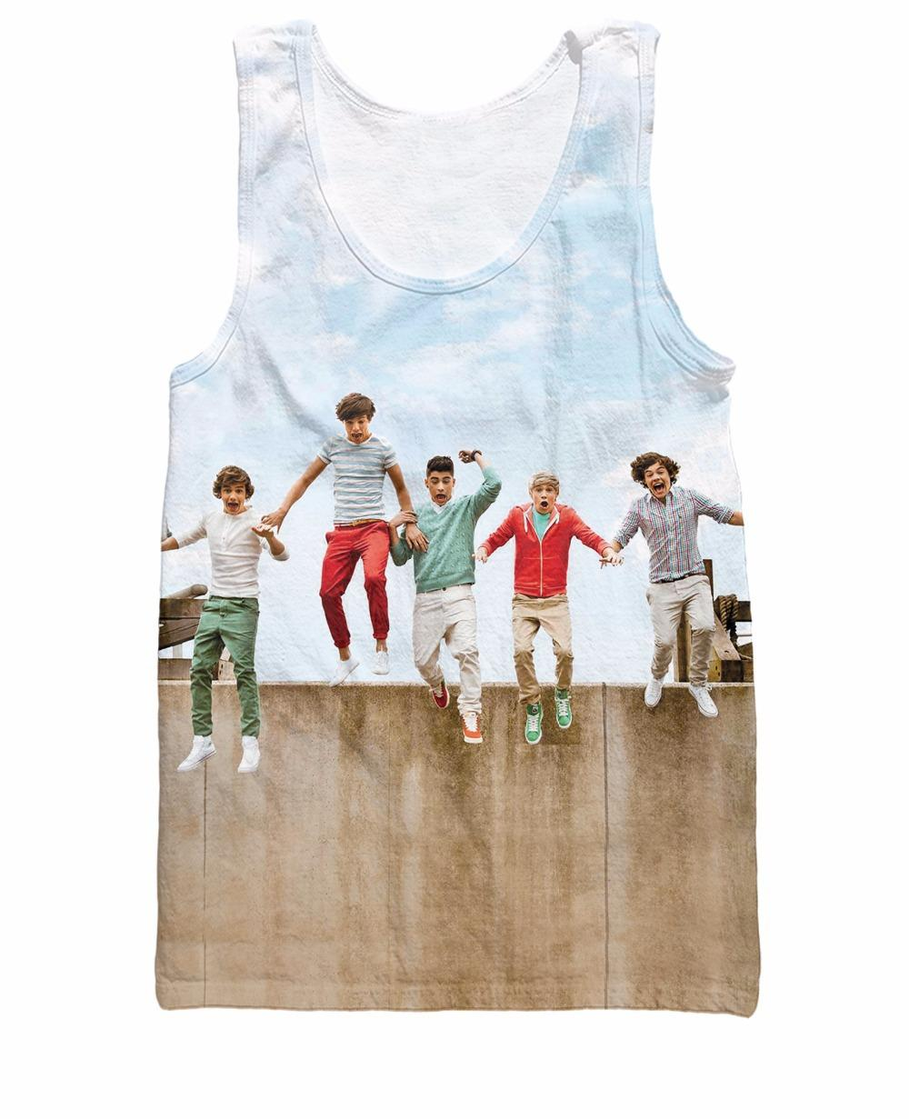 2017 One Direction Tank Top Niall Horan Liam Payne Harry Styles ...