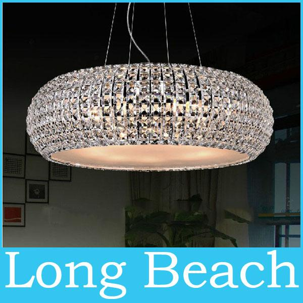 Discount Chrome Modern Crystal Pendant Lights Hang Bar Light Lustre Crystal L& Dia430mm Hanging Ceiling L&s Hanging Lights From Ceiling From Longbeach ... & Discount Chrome Modern Crystal Pendant Lights Hang Bar Light ... azcodes.com