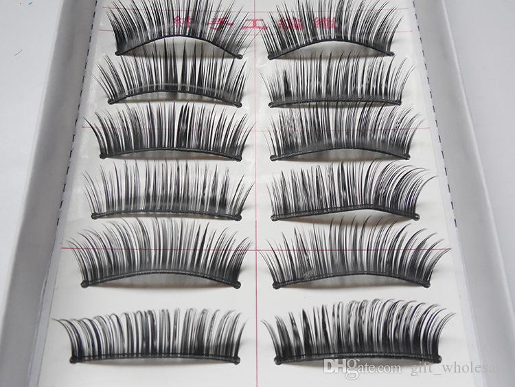 2016 New Best Prices Eyelashes Thick Long False Eyelashes Eyelash Eye Lashes Voluminous Makeup