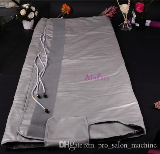 NEW Verkaufs Sauna Blanket 3 Zonen FIR Far Infrared Schwitzen Detox Cellulite-Entfernung Körper schlank Maschine Temperatur einstellbar CE