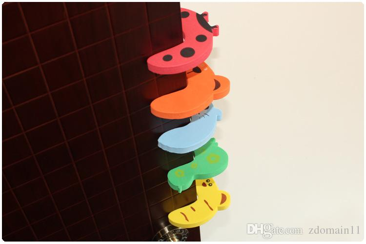 Baby Safety Products Cartoon Animal Stop Edge Corner for Children Kids Guards Door Stopper Holder Lock Safety Protector