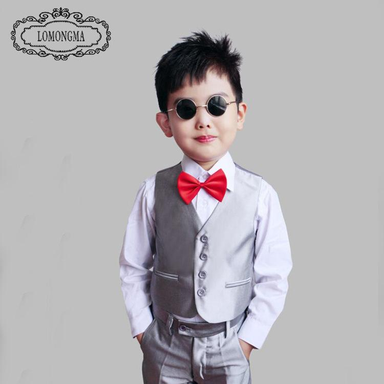 15c0c6b5b3526 Children Suit Baby Boys Suits Kids Blazer Boys Formal Suit For Weddings Boys  Clothes Set Jackets+Vest+Pants+Shirt+Tie 2 7Y Canada 2019 From Moneyking,  ...
